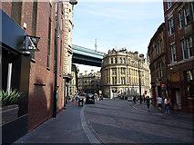 NZ2563 : The Side, Newcastle by John Lucas