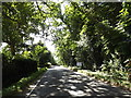 TL9971 : Entering Walsham le Willows on Summer Road by Adrian Cable