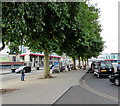 ST3088 : Tree-lined pavement, Queensway, Newport by Jaggery