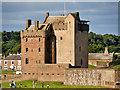 NO4630 : Broughty Castle by David Dixon