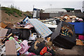 TA1030 : Flytipping on Bedford Street, Hull by Ian S