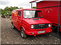 TL1597 : Former Leyland Sherpa Royal Mail van at Ferry Meadows station by Paul Bryan