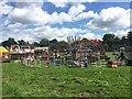 SJ7548 : Betley Show: fairground by Jonathan Hutchins