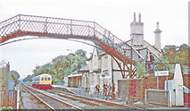 NZ1164 : Wylam station, 1981 by Walter Dendy, deceased