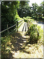 TL9971 : Footbridge off Ixworth Road by Adrian Cable