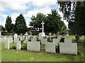 TM2935 : War Graves at Felixstowe cemetery by Adrian S Pye