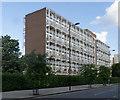 TQ3584 : Latimer House, Morning Lane, London E9 by Julian Osley