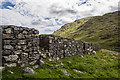 SH7917 : North Wales WWII defences: Bwlch Oerddrws - anti-tank blocks (2) by Mike Searle