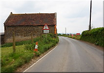 ST7037 : Barn at Copplesbury Farm by Ian S