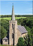 NY6565 : St Cuthbert's Church, Greenhead - August 2016 (1) by The Carlisle Kid