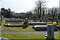 SX4369 : Churchyard, Church of St Andrew by N Chadwick
