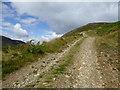 NN8432 : Hill track below Conichan Castle by Alan O'Dowd