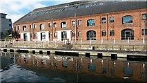 SS6692 : Converted warehouses at Prince of Wales Dock by David Martin