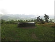 NY2427 : Bench with a view by Graham Robson