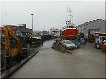NM6797 : Mallaig Harbour by Bill Henderson