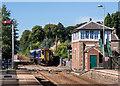 NY8464 : Haydon Bridge station - August 2016 (5) by The Carlisle Kid