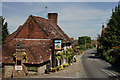 TQ0111 : George & Dragon, Houghton by Peter Trimming