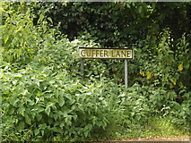 TM0890 : Cuffer Lane sign by Adrian Cable