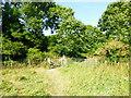 TQ4906 : Gate at end of Public Access Land by PAUL FARMER