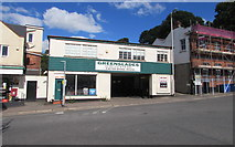 SX9193 : Greenslades Service Garage, Exeter by Jaggery