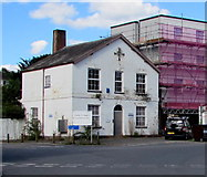 SX9193 : The White House near Exeter St Davids railway station by Jaggery