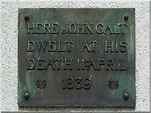 NS2776 : Plaque for John Galt by Lairich Rig