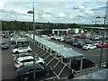 SJ8648 : Wolstanton Retail Park: Marks and Spencer car park by Jonathan Hutchins