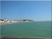 TQ8109 : Hastings Coastline by Paul Gillett