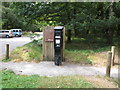 SU9485 : Ticket machine, Burnham Beeches car park by David Hawgood