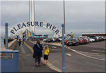 SY6878 : Weymouth's 'Pleasure Pier' by Oliver Mills