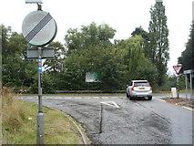 SK1631 : Road junction, Dovebank by JThomas