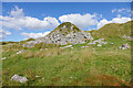 SX5673 : Spoil tips, Foggintor Quarry by Alan Hunt