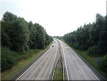 SK1433 : The A50 eastbound by JThomas