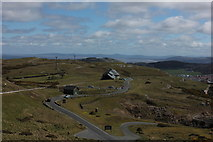 SH7783 : Great Orme tramway looking towards midway station by Robert Eva