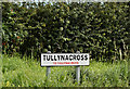 J2865 : Tullynacross name sign, Hilden/Lambeg (August 2016) by Albert Bridge