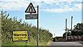 J2865 : Speed limit sign, Sandy Lane, Tullynacross (August 2016) by Albert Bridge