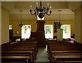 NH8071 : Inside Nigg Old Parish Church by Craig Wallace