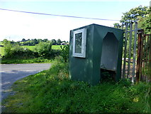 H4657 : Bus shelter, Aghafad by Kenneth  Allen