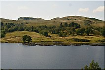 NN0826 : Across Loch Awe from the falls of Cruachan by Chris