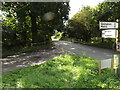 TM0669 : Gislingham Road, Finningham by Adrian Cable