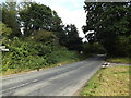 TM0669 : B1113 Walsham Road, Finningham by Adrian Cable