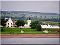 NH7867 : Cromarty Beach and Lighthouse by David Dixon