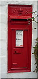 SK0136 : Victorian postbox, Lower Leigh by JThomas