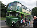 SE3031 : Old Daimler bus at Moor Road station by Stephen Craven