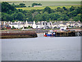 NH7867 : Entrance to Cromarty Harbour by David Dixon