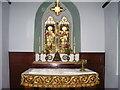 SN0234 : St Brynach's Church, Pontfaen - interior by welshbabe