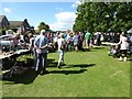 SO9036 : Stalls at Twyning Fete by Philip Halling
