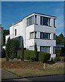 TQ1792 : Modernist house, Valencia Road, Stanmore - No. 2 by Julian Osley