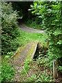 SC2177 : Footbridge, public footpath, Barrane by Christine Johnstone