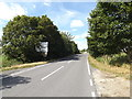 TL9370 : A1088 Stow Lane & roadsign by Adrian Cable